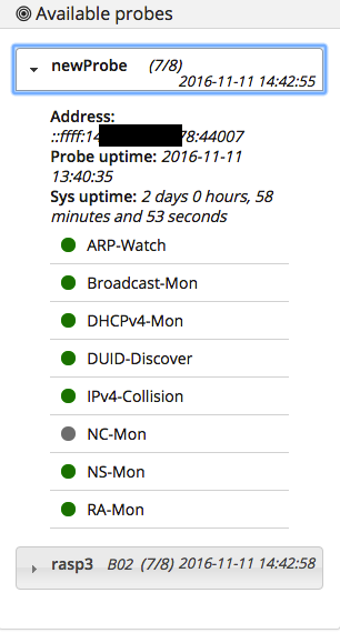 available-probes